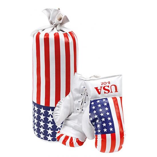 Bokshandschoenen met boks zak