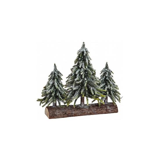 Decoratie Boomstam Met Kerstbomen Speelgoedpostorder kopen