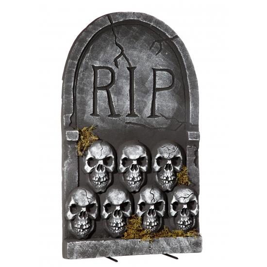 Halloween Grafsteen Rip Met Schedels 55 Cm Speelgoedpostorder kopen