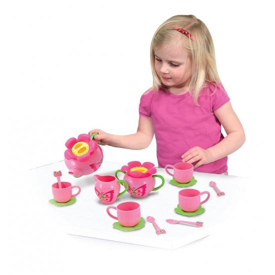 Kinder servies met vlinder thema