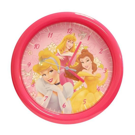 Kinderkamer klok Disney prinses 30 cm