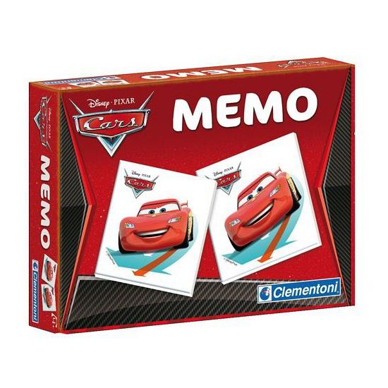 Cars memory spel. dit memory spel met plaatjes uit de bekende disney film: cars bevat 48 kaarten en is ...