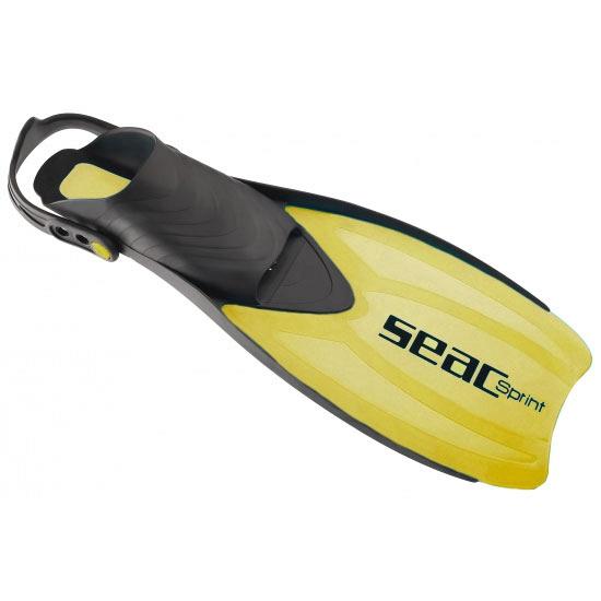 Seac zwemvliezen verstelbaar geel