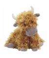 Bruine Hoogland koeien knuffel