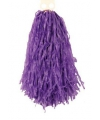 Cheerleader pompoms paars 28 cm