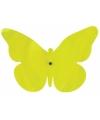 Gekleurde muurvlinder groen 25 cm