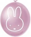 Nijntje feest thema ballonnen roze