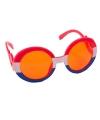 Rood wit blauwe bril