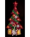 Winter decoratie kerstboom 74 cm