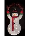 Winter decoratie sneeuwpop 82 cm