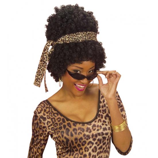 Afro Pruiken Hoog Haar Dames