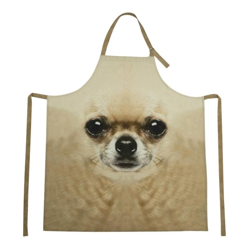 BBQ schort met Chihuahua print