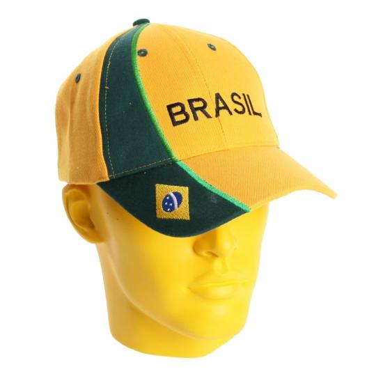 Braziliaanse Petten Geel/groen