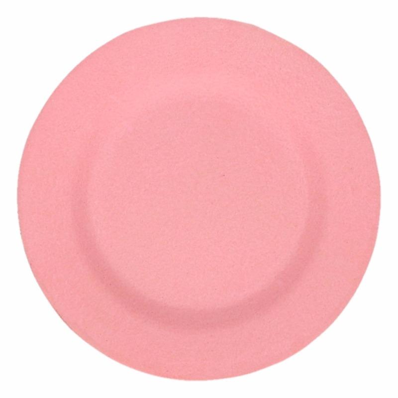 Camping Ontbijt Bord Roze 19 8 Cm