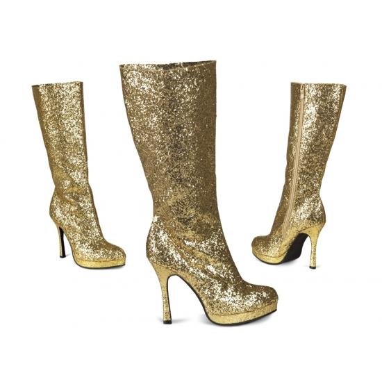 Glitter Laarzen Goud