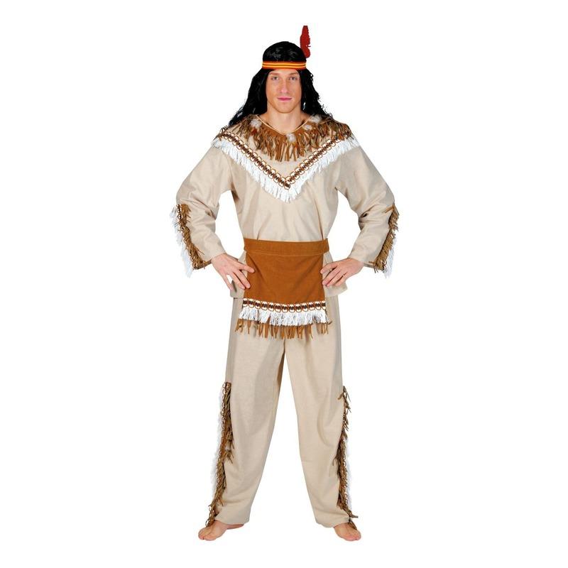 Indiaan Adahy verkleed kostuum voor heren