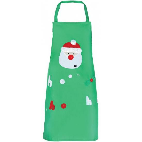 Kerst knutsel en kook schort groen