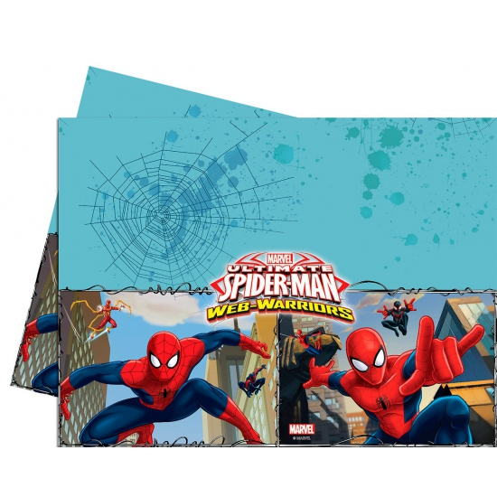 Kinderfeestje Spiderman Tafelkleed 120 X 180 Cm
