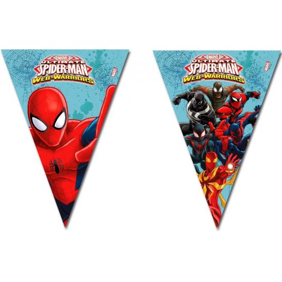 Kinderverjaardag Spiderman Vlaggenlijn