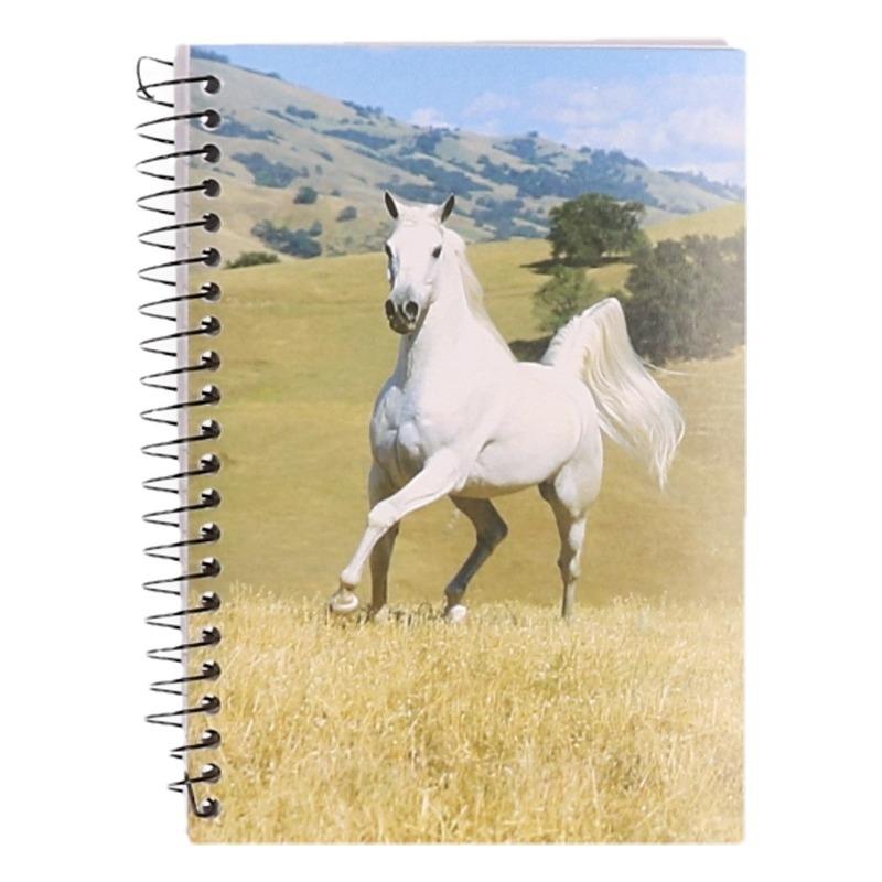 Memo Boekje A6 Wit Paard
