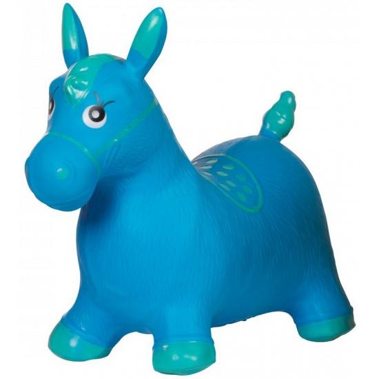 Paard Skippyballen Blauw