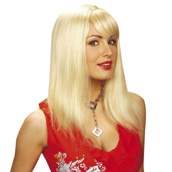 Pruiken Blond Stijl Haar Volwassene