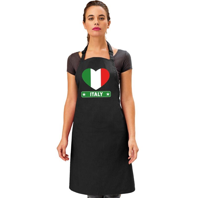 Schort Italiaans restaurant hart Italie