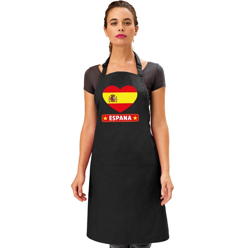 Schort Spaans Tapas restaurant hart Spanje