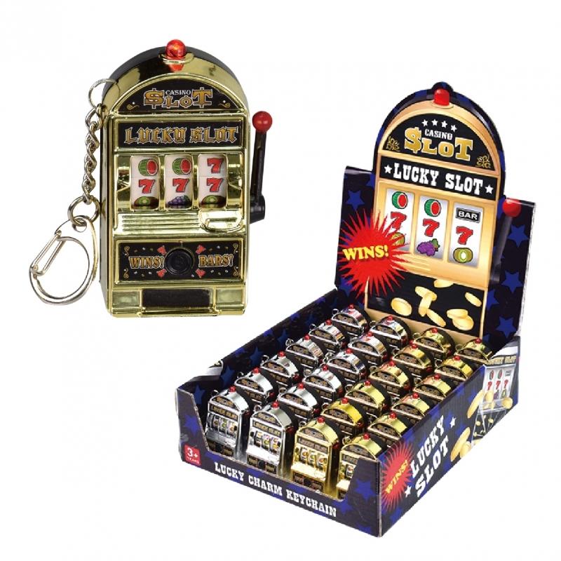 Slotmachine Casino Sleutelhanger
