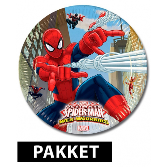 Spiderman Feestartikelen Pakket