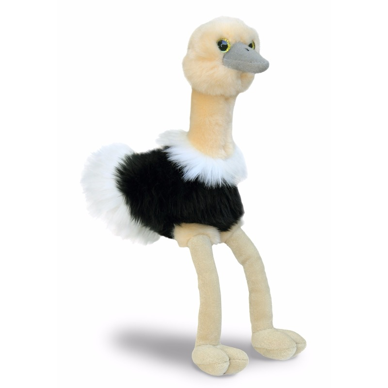 Struisvogel Knuffeltje 20 Cm