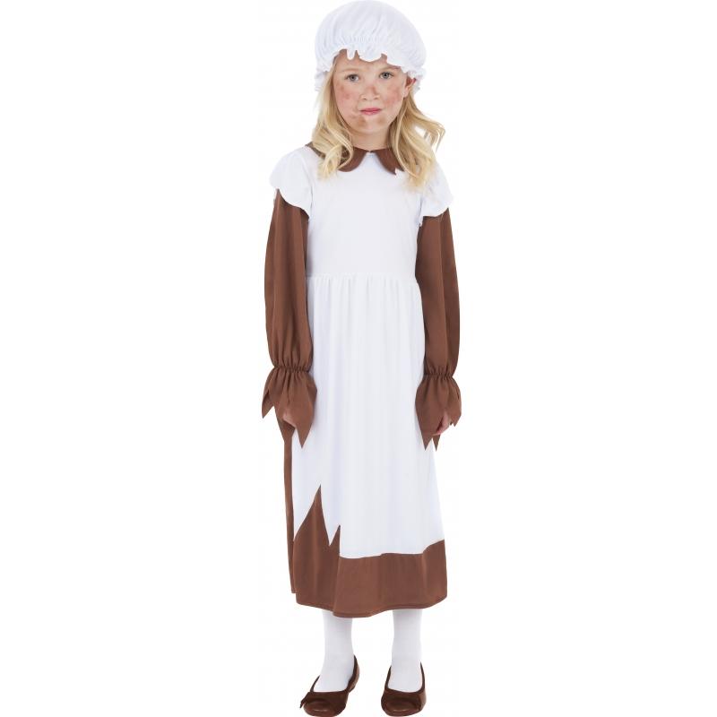 Victoriaans weeskindjes kostuum