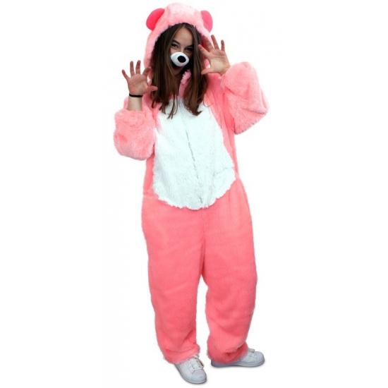 Vrijgezellenfeest outfit roze beer