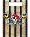 Uitdeelzakjes piratenfeestje 8x