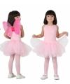 Gympakje met roze tutu meisje