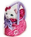 Barbie tas witte poes 20 cm