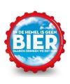 Frisdrank opener bier in de hemel