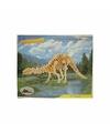 Houten Apathosaurus bouwpakket
