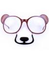 Bril in de vorm van een beer