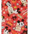Disney cadeaupapier Mickey en Minnie Mouse