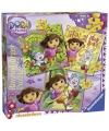 Dora legpuzzels 3 in 1