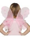 Elfje vleugels roze voor kinderen