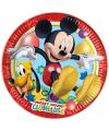 Wegwerp bordjes Mickey Mouse 8 stuks