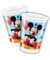 Kinderverjaardag Mickey Mouse bekers 200 ml