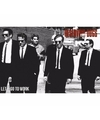 Grote poster Reservoir Dogs Lets Go To Work 91x61cm