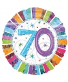 Helium folie ballon 70 jaar