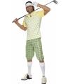 Golf speler kostuum heren