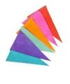 Kleur vlaggenlijn van papier