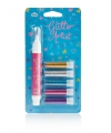 Setje glitter pennen licht 5 stuks