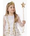 Kinder fee stafje goud